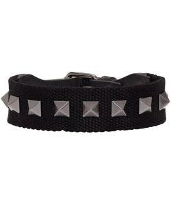 Valentino | Textile Rockstud Bracelet