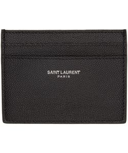 Saint Laurent | Grained Leather Card Holder