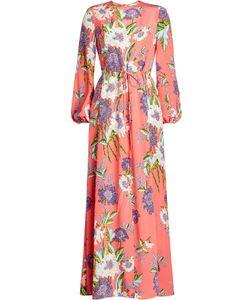 Diane von Furstenberg | Printed Silk Dress Gr. Us 4