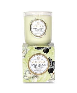 Voluspa | Classic Maison Sake Lemon Flower Wax Candle Gr. One Size