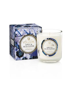 Voluspa | Classic Maison Apple And Blue Clover Wax Candle Gr. One Size