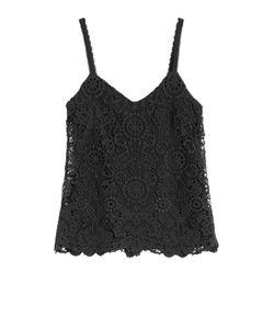Polo Ralph Lauren | Lace Cotton Top Gr. 8