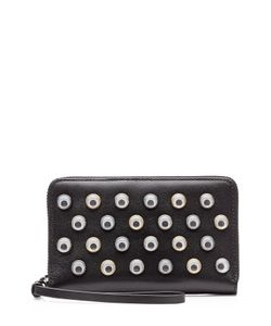 Marc by Marc Jacobs x Disney | Googley Eye Embellished Leather Wallet With Wrist Strap Gr. One Size
