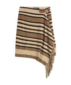Polo Ralph Lauren   Silk-Cotton Blend Fringed Skirt Gr. S