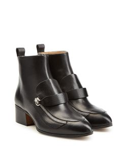Chloé | Leather Ankle Boots Gr. 36