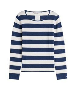 81 Hours by Dear Cashmere | Cashmere Striped Pullover Gr. S