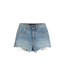 Denim x Alexander Wang | Cut-Off Denim Shorts Gr. 25