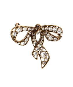 Marc Jacobs | Crystal Embellished Bow Brooch Gr. One Size