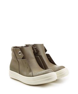 Rick Owens   Leather Island Dunk Sneakers Gr. It 38