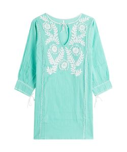 Florabella | Embroidered Cotton Tunic Gr. S