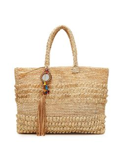 Florabella | Raffia Tote With Embellishment Gr. One Size