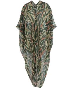 ADRIANA DEGREAS | Printed Silk Kaftan Gr. One Size