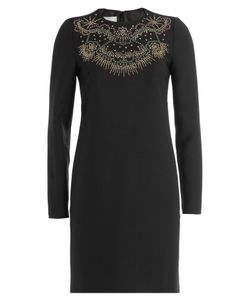 Valentino | Star Stripes Dress With Virgin Wool And Silk Gr. It 38