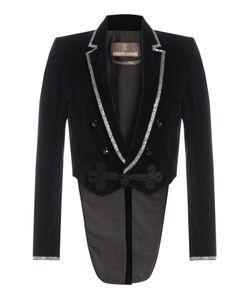 Roberto Cavalli   Velvet Blazer With Crystal Embellishment Gr. It 44