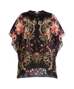 Roberto Cavalli   Printed Silk Tunic Blouse Gr. It 40