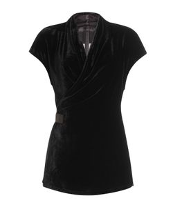 Rick Owens | Draped Velvet Top Gr. It 38