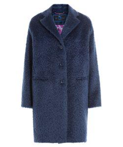 Etro | Mohair-Wool Blend Coat Gr. It 40