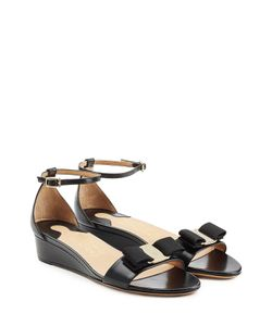Salvatore Ferragamo | Margot Leather Sandals Gr. Us 7