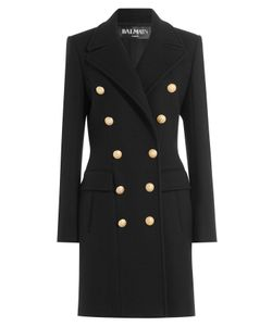 Balmain | Wool-Cashmere Double-Breasted Coat Gr. Fr 36