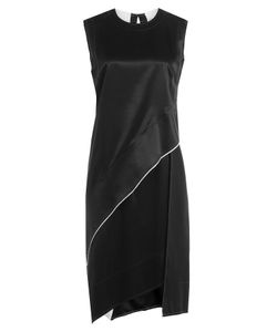 DKNY | Asymmetric Dress With Satin Gr. Us 8