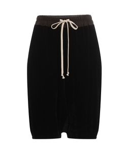 Rick Owens   Harem Shorts With Silk Gr. It 38