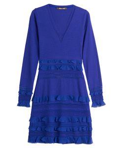Roberto Cavalli | Fleece Wool Dress Gr. It 38