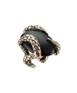 Roberto Cavalli | Statement Ring With Semi-Precious Stone Gr. M