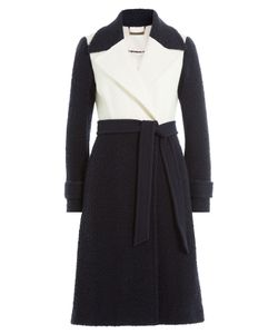 Diane von Furstenberg | Two-Tone Wool Coat Gr. Us 8