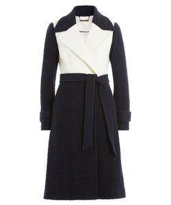 Diane von Furstenberg | Two-Tone Wool Coat Gr. Us 8