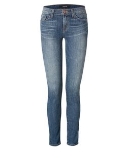 J Brand Jeans | Mid Rise Skinny Jeans In Blue Gr. 24