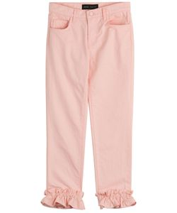 Simone Rocha X J Brand | Cropped Jeans With Frilled Cuffs Gr. 27