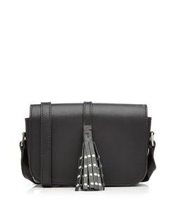 Steffen Schraut | Leather Shoulder Bag With Embellished Tassel Gr. One Size