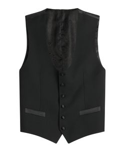 Dolce & Gabbana | Virgin Wool Vest With Silk Gr. Eu 48