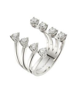Delfina Delettrez | 18kt White Gold Ring With Diamonds Gr. One Size