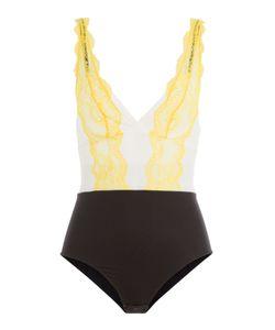 La Perla | Body With Lace And Mesh Gr. 2