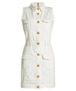Balmain | Denim Dress With Embossed Buttons Gr. Fr 36
