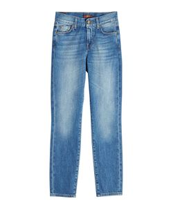 Seven for all Mankind | Mid-Rise Cropped Jeans Gr. 30