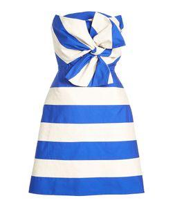 Delpozo | Bandeau Dress With Linen And Cotton Gr. Fr 36