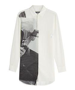 Karl Lagerfeld | Printed Silk Shirt Gr. It 42