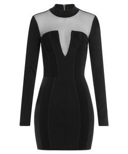 Balmain | Dress With Sheer Inserts Gr. Fr 36