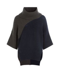 Derek Lam | Turtleneck Pullover With Virgin Wool And Cashmere Gr. S