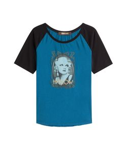 Roberto Cavalli   Printed Cotton T-Shirt Gr. It 40
