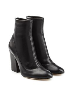 Sergio Rossi | Virgina Leather Ankle Boots Gr. It 42