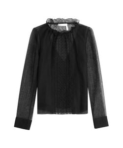 See by Chloé | Embroidered Blouse With Cotton Gr. Fr 40