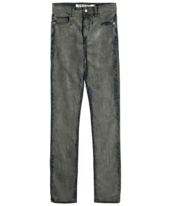 McQ | Low-Waist Skinny Distressed Jeans Gr. 24