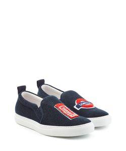 Joshua Sanders | Felted Wool Slip-On Sneakers Gr. Eu 40