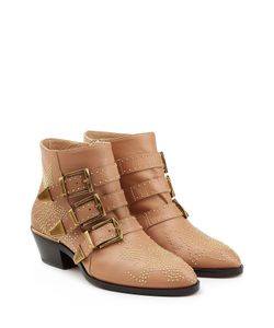 Chloé | Studded Ankle Boots Gr. It 39