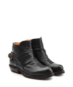 Fiorentini & Baker | Leather Buckle Back Ankle Boots Gr. It 41