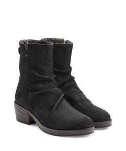 Fiorentini & Baker | Sueded Leather Back Zip Boots Gr. It 41