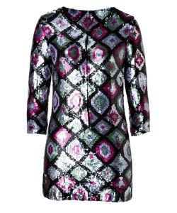 Antik Batik | Sequined Tunic In Khaki Gr. L